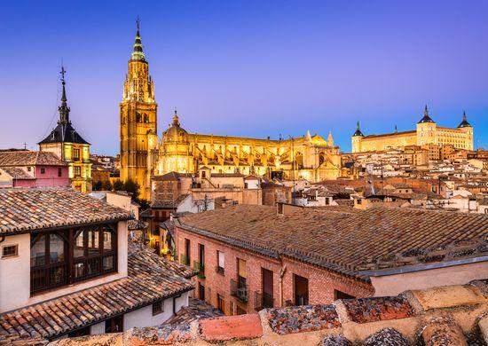Andalūzija ir Toledas