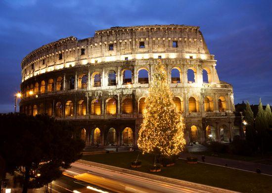 Italija. Naujieji Metai Amžinajame mieste Romoje 8d.