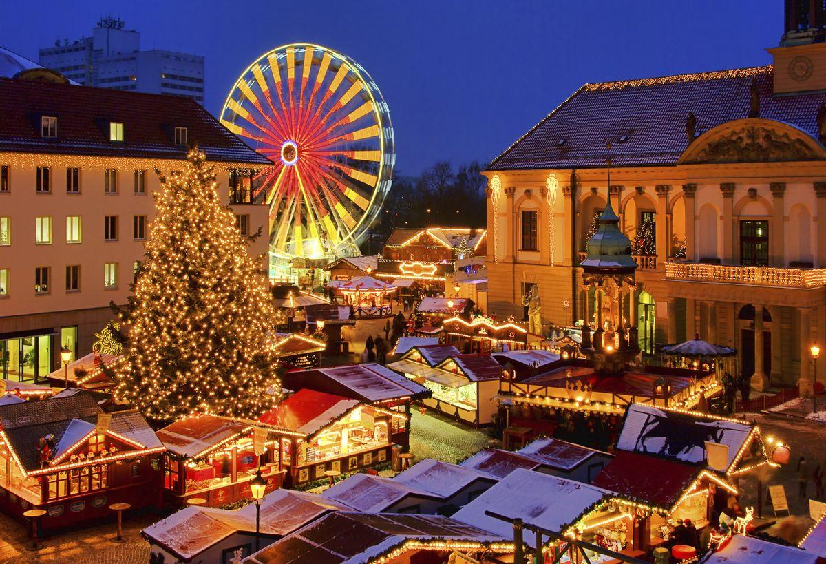 Kalėdinė mugė Vienoje ir Dunojaus slėnis