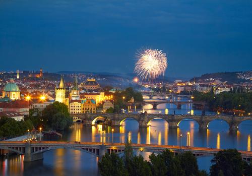 Naujametinė Viena - Praha