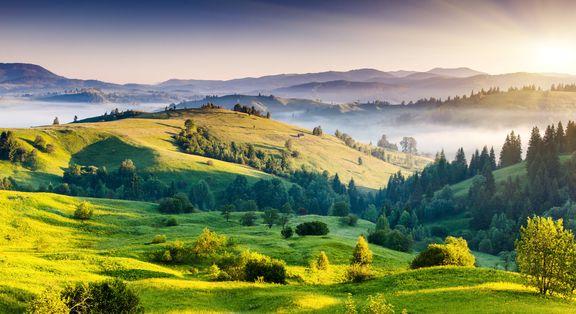 Ukrainos kalnai, pilys ir miestai