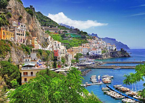 Italija. Amalfio pakrantės keliais 10d.