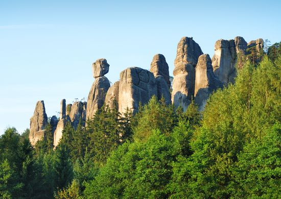 Čekija. Čekijos panorama 7d.