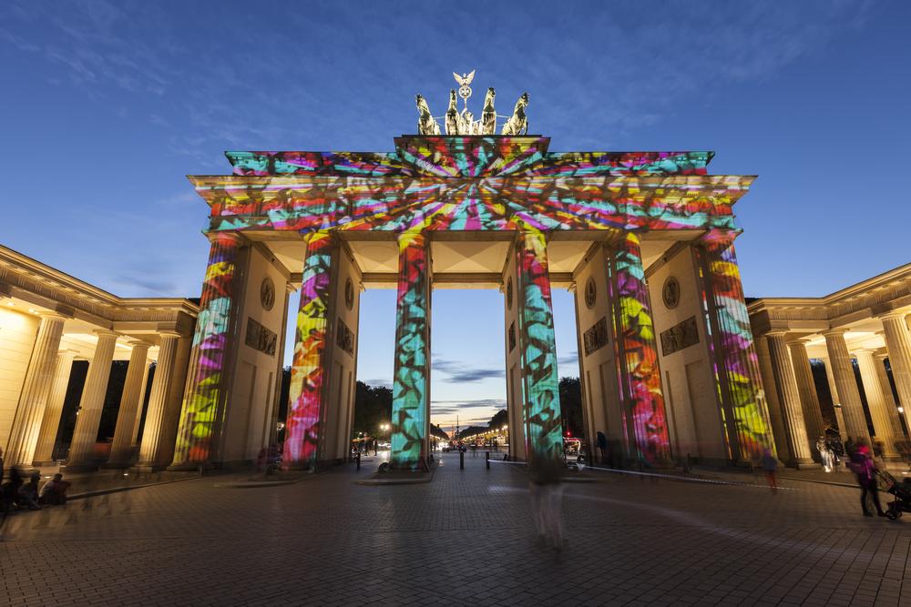 Šviesos festivalis Berlyne