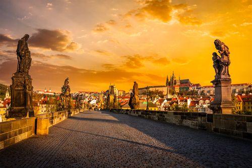 Auksinė Praha - Karlšteinas