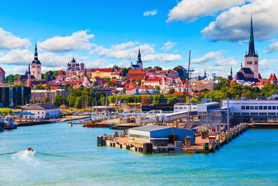 Estijos salų grožis ir senasis Talinas 3d.