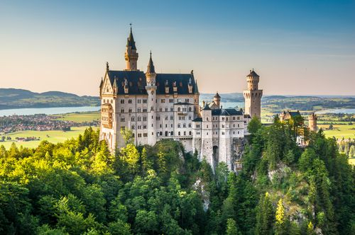 Bavarijos pilys ir Austrijos alpės