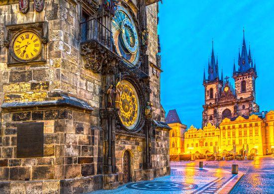 Savaitgalis Prahoje