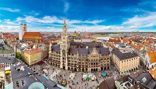 Vokietijos Bavarijos miestai