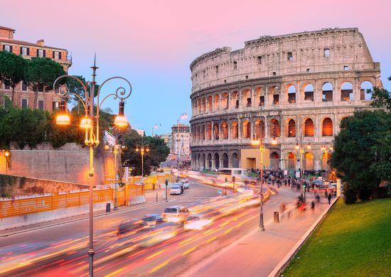 Italija. Visi keliai veda į Romą... 10d.