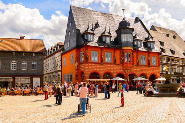 Saksonijos pilys, miestai ir Harco kalnai