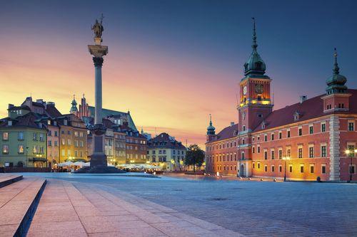 Varšuvos panoramos ir karališkieji parkai