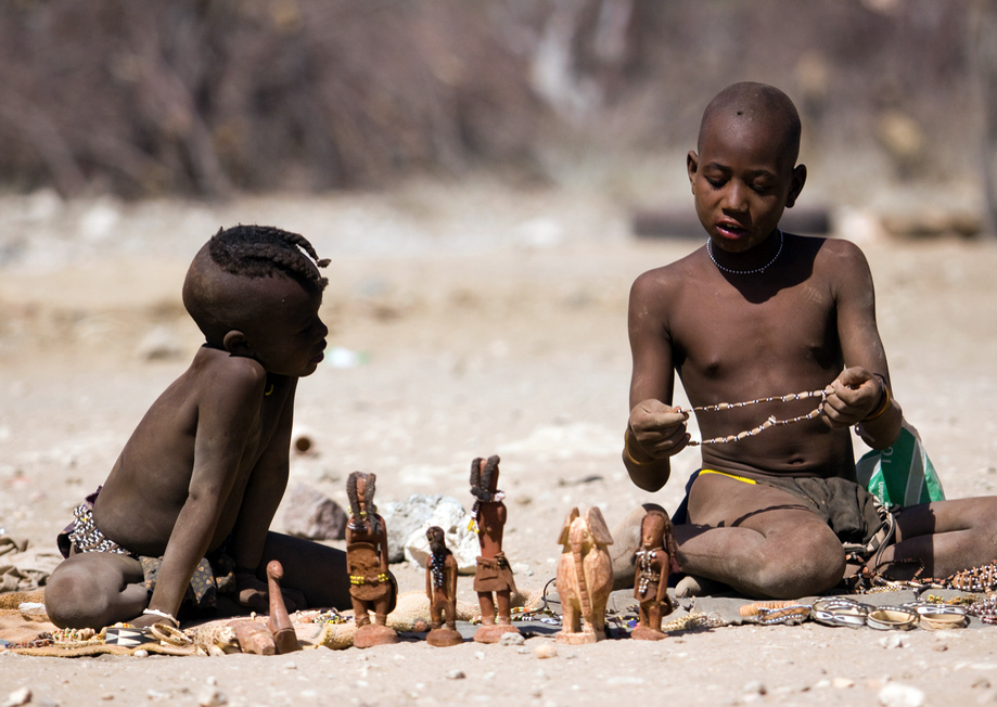 Namibija: Afrikos dykumos ir gentys