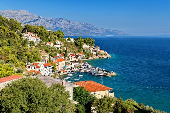 PIETŲ KROATIJA. Poilsis prie Adrijos jūros Makarskos rivjeroje 11d.