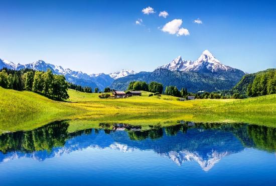 Vokietijos, Austrijos Alpės, Bavarija ir guršnelis Šveicarijos..aktyvus poilsis kalnuose