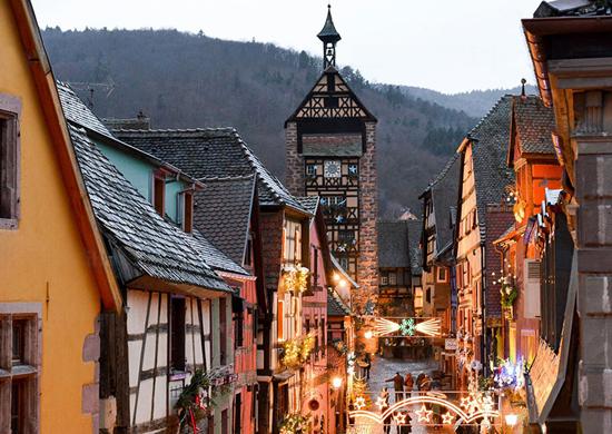 Strasbūras ir Elzaso žiemos pasaka