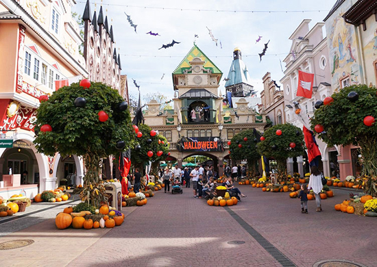 Rudens atostogos ir Helovino šventė Europos parke ir vokiškajame Legolende