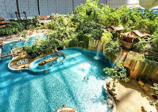 Legolendo pažinimo centras, Berlyno zoologijos sodas, žiemos sodas ir drugelių namai, Tropical Island vandens pasaulis