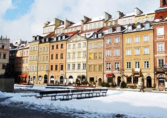 Savaitgalis žavingojoje Varšuvoje
