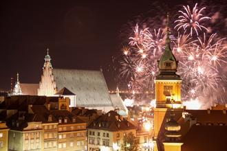 """Naujieji metai Varšuvoje ir pramogos """"Tropikana"""" vandens parke (2 dienos)"""