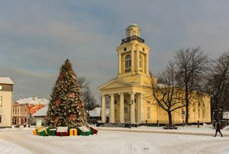 Naujųjų Metų sutikimas pilyje arba Latvijos pajūryje - Ventspilyje