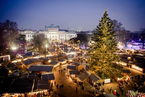Kalėdinės mugės Vienoje