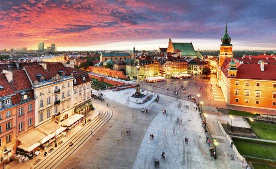 Varšuva – puošnioji Lenkijos sostinė