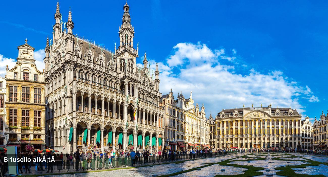 Prancūzija–Belgija–Olandija   Pažintinė kelionė lėktuvu